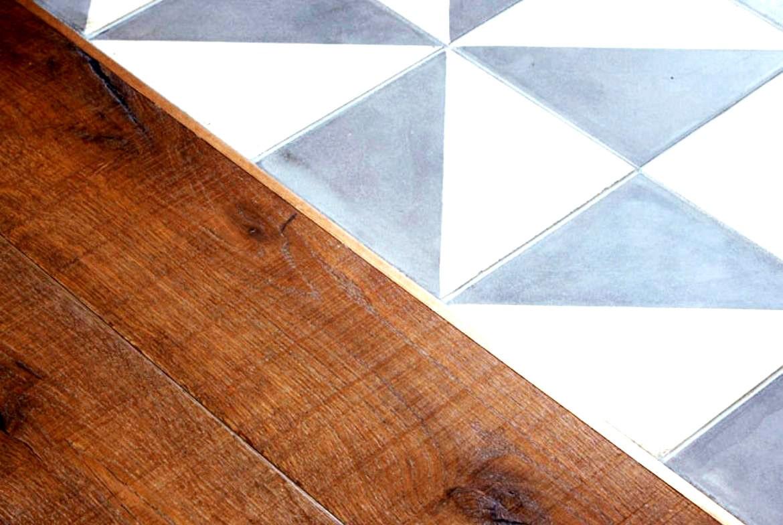 Combinar terres de fusta amb ceràmica, èxit assegurat